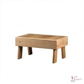 Bastustol och pall   Pall i Värmebahandlad Asp 700x400