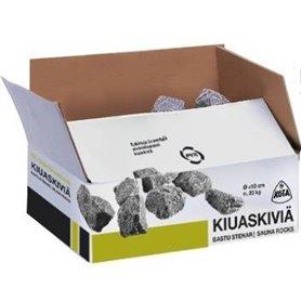 Tillbehör för el-bastuaggregat   Bastusten Narvi, olivindiabas,10-15 cm, 20 kg
