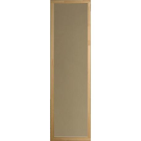 Bastufönster storlek 5x19   Bastufönster 5x19 Rökgrått glas, Alkarm