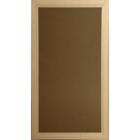 Bastufönster storlek 5x9   Bastufönster 5x9 Bronsfärgat Glas med Aspkarm